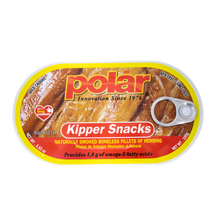 Kipper Herring Snack 3.53oz (Pack of 9 or 18) - MWPolar