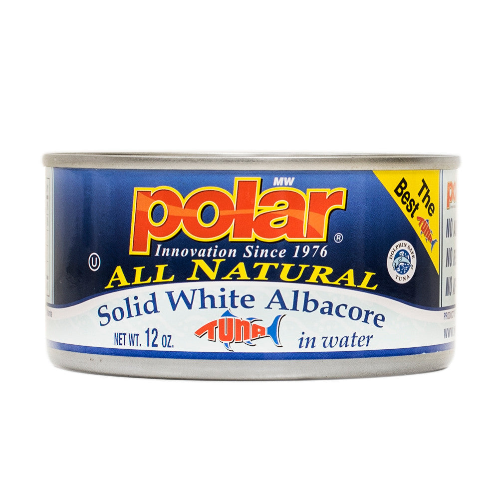 Solid White Albacore 12oz (Pack of 6 or 12) - MWPolar