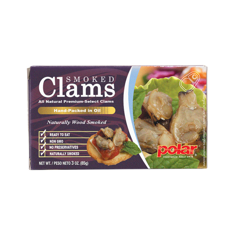 Smoked Clams 3 oz (Pack of 6 or 12 or 18)