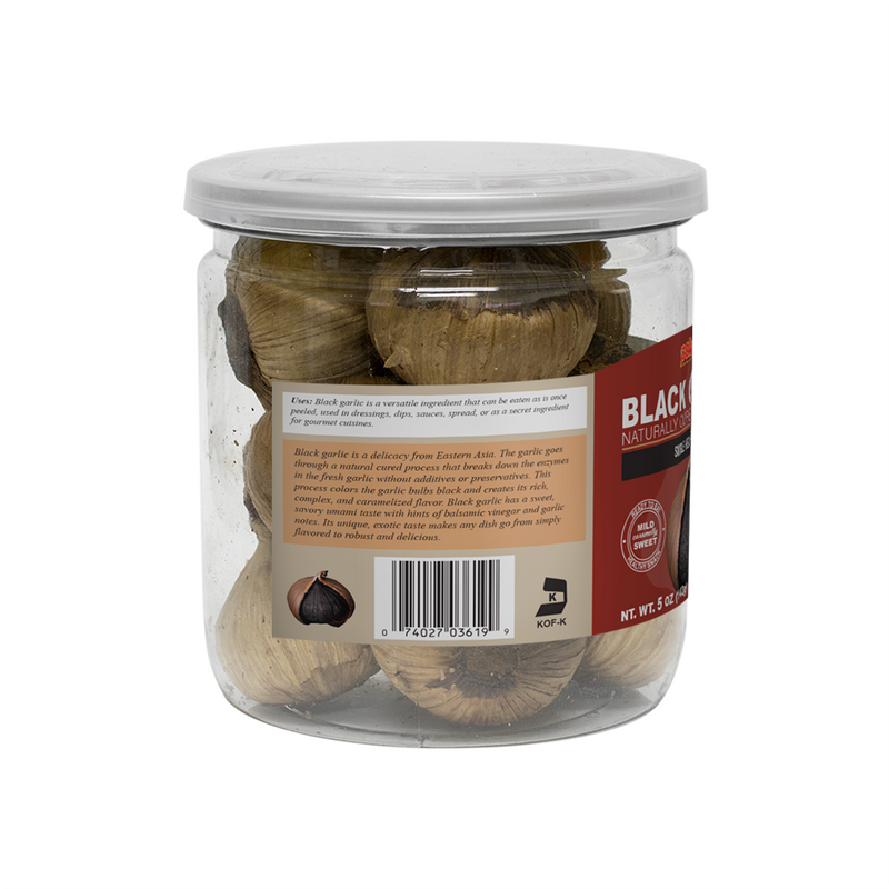 Black Garlic 5oz (Pack of 3 or 6)