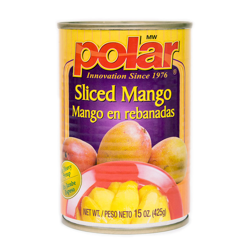 Sliced Mango in Light Syrup 15 oz (Pack of 6 or 12) - MWPolar