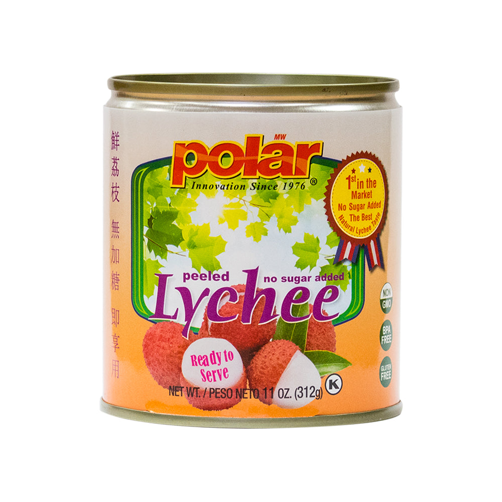 Polar Lychee No Sugar Added 11 oz (Pack of 12) - MWPolar