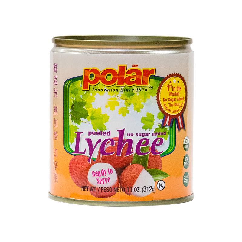 Lychee No Sugar Added 11 oz (Pack of 12) - MWPolar