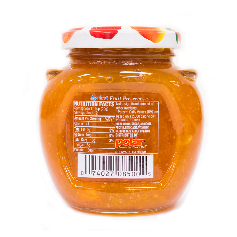 Apricot Fruit Preserves 8.5 oz (Pack of 12)