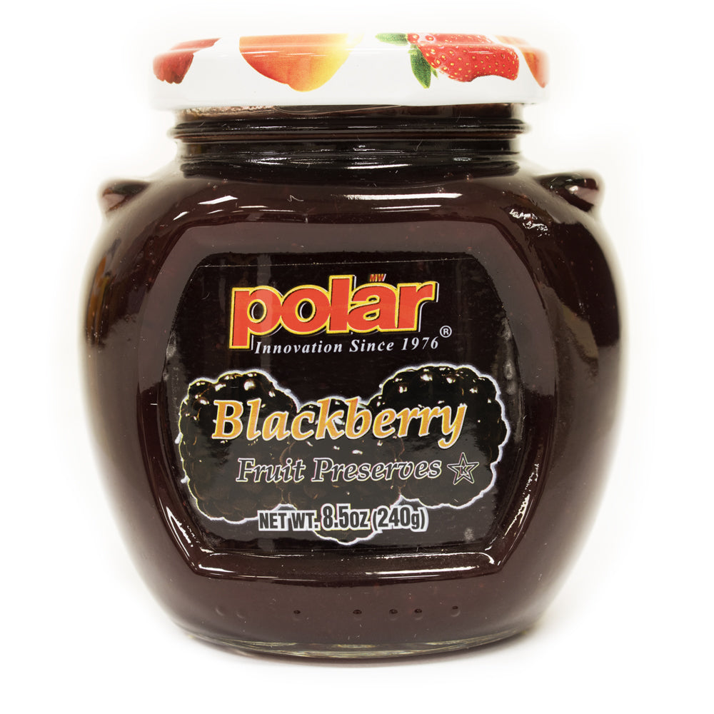 Blackberry Fruit Preserves 8.5 oz (Pack of 12) - MWPolar