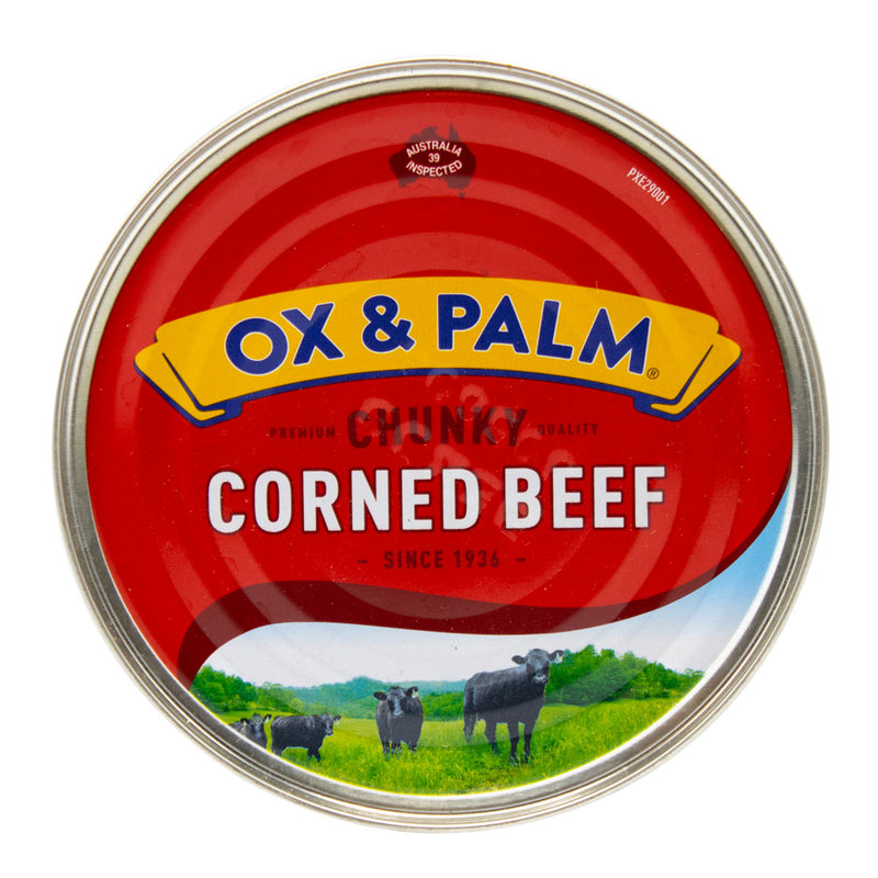 Corned Beef Original 11.5oz (Pack of 6) + Black Garlic 5oz (Pack of 6) Holiday Bundle - MWPolar