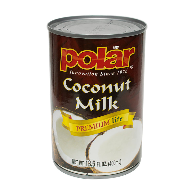 Coconut Milk Premium Lite 13.5 floz (Pack of 6 or 12) - MWPolar