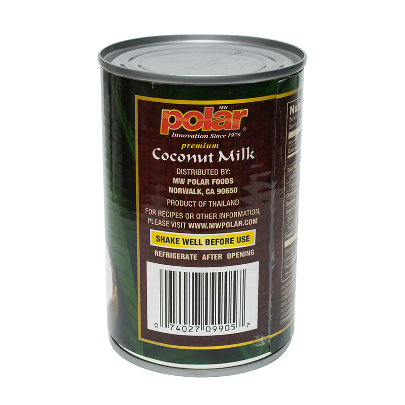 Coconut Milk Premium 13.5 floz (Pack of 6 or 12) - MWPolar