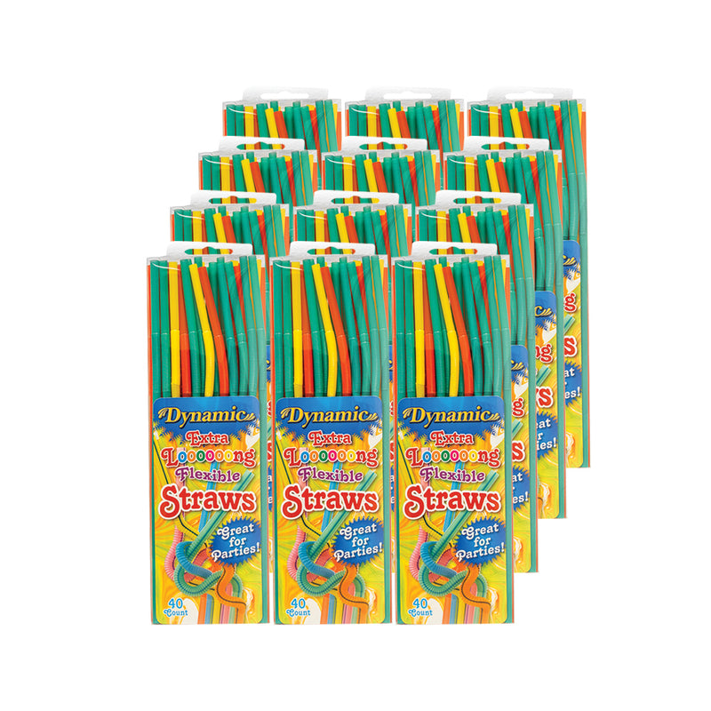 Extra Long Flexible Straws - (Pack of 240 straws, 480 straws, 960 straws)