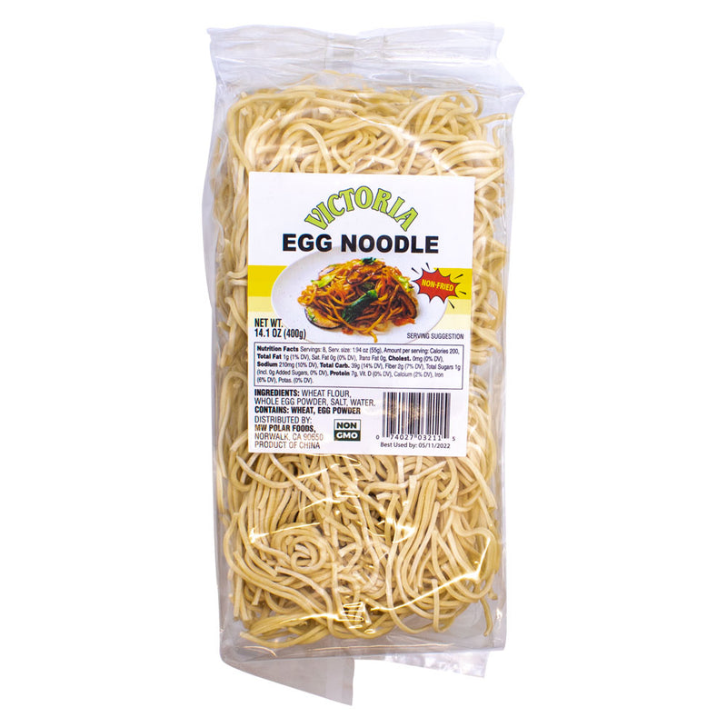 Dry Noodle with Egg 14.1oz (Pack of 12) - MWPolar