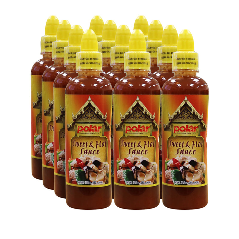 Sweet & Hot Sauce 15.5 oz (Pack of 6 or 12)