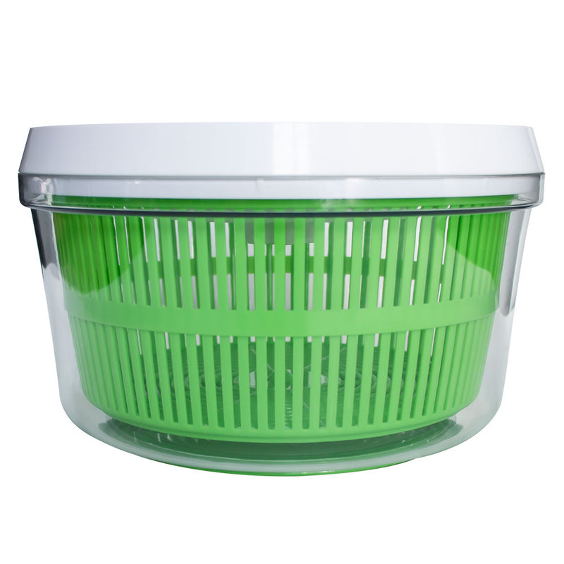 Dynamic Cutlery-Pro Salad Spinner, Large, Green and White