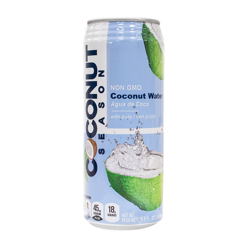 Coconut Water Non GMO 16.9 fl oz (Pack of 24) - MWPolar