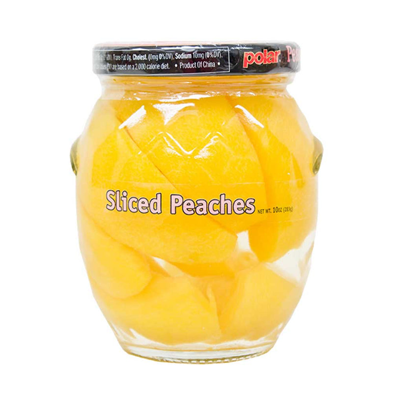 Sliced Peaches in Light Syrup 10 oz (Pack of 12) - MWPolar