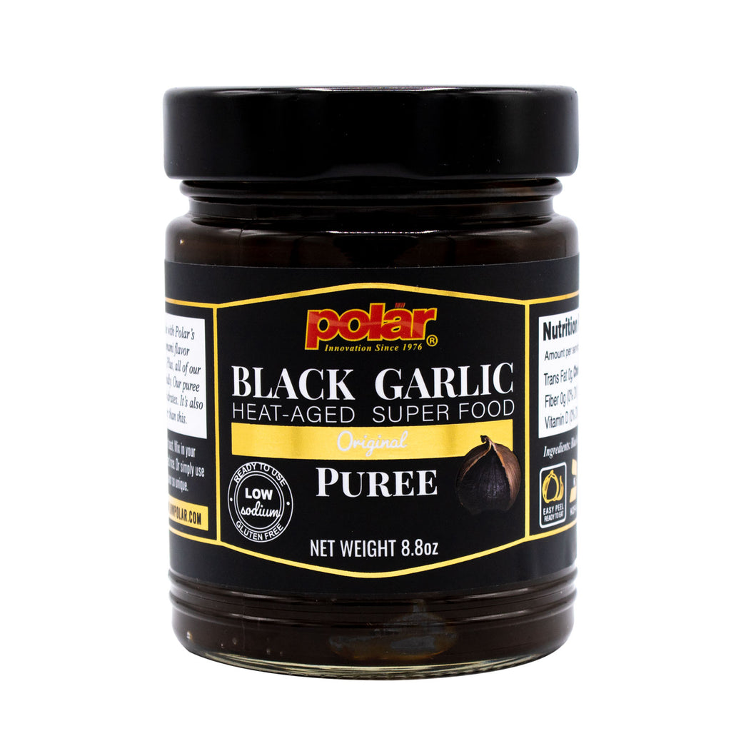 Black Garlic Puree Original Flavor (Pack of 1, 2, or 6) - MWPolar