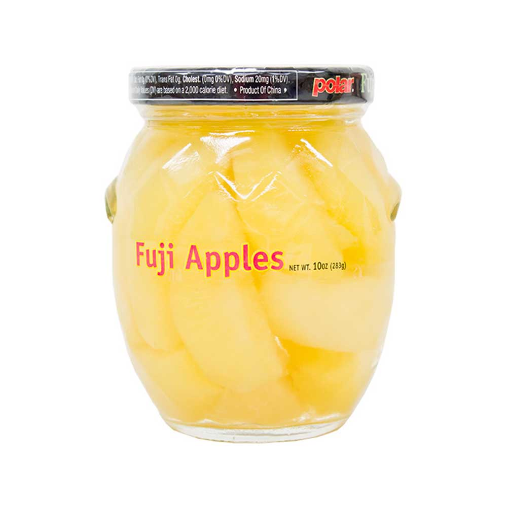 Fuji Apple Slices in Light Syrup 10 oz (Pack of 12) - MWPolar