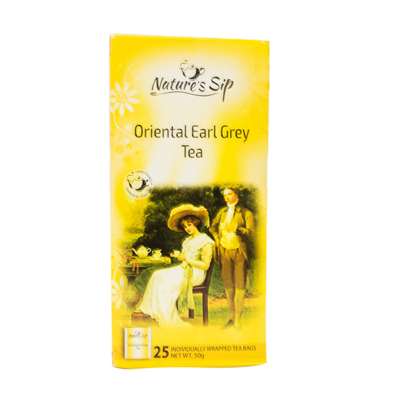 Nature's Sip Teas - Oriental Earl Grey 25 ct (Pack of 12 or 6) - MWPolar