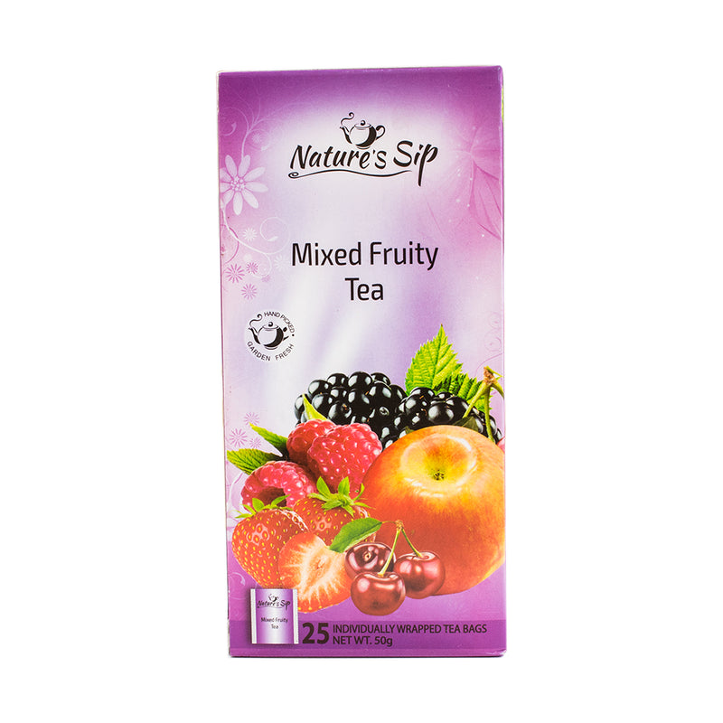 Nature's Sip Teas - Mixed Fruity Tea 25 ct (Pack of 12 or 6) - MWPolar