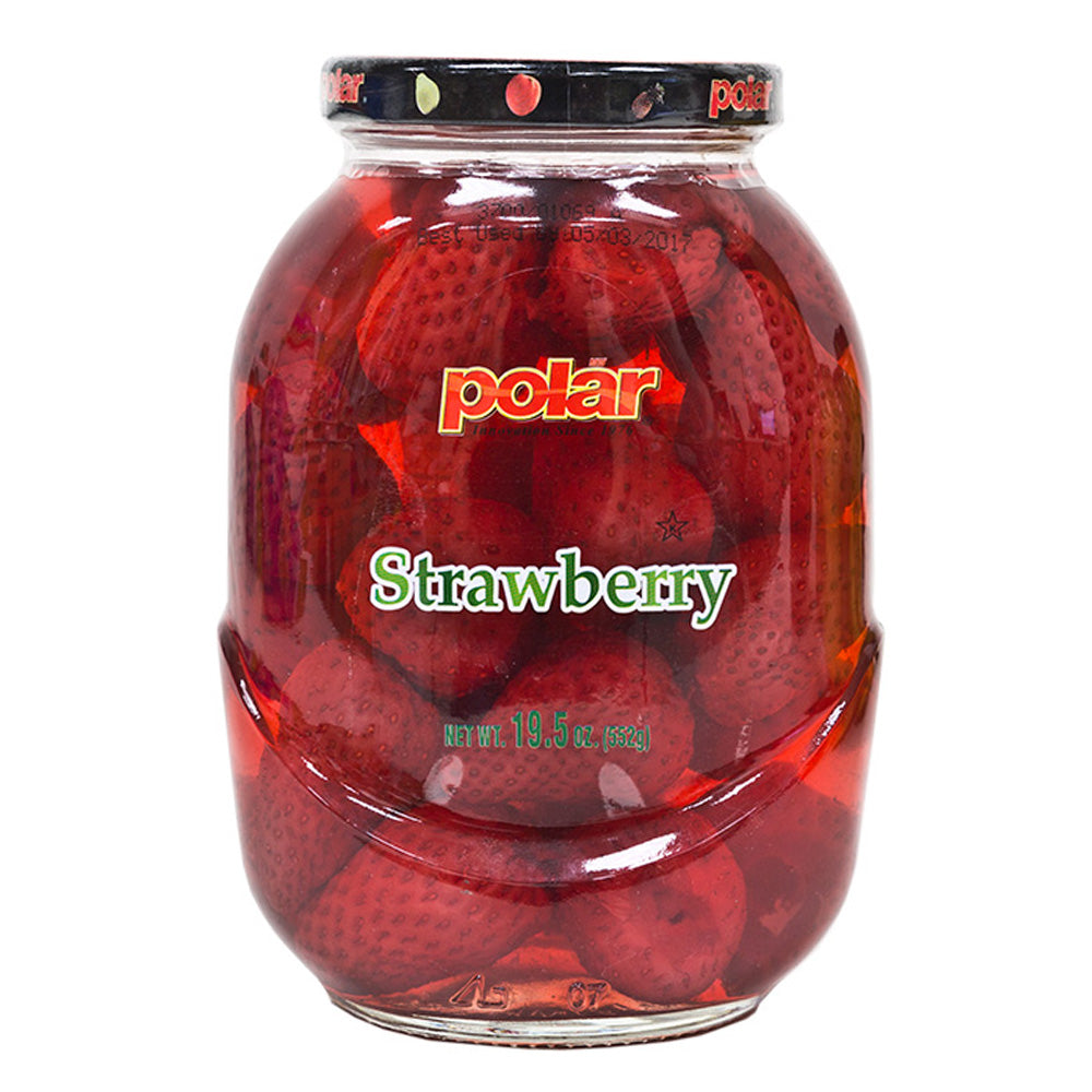 Strawberry in Light Syrup 19.5 oz (Pack of 6) - MWPolar