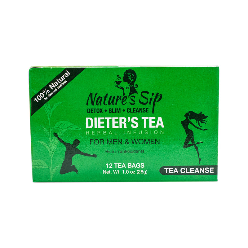 Nature's Sip Teas - Dieter's Tea for Men & Women 12 ct (Pack of 48 or 12 or 4) - MWPolar
