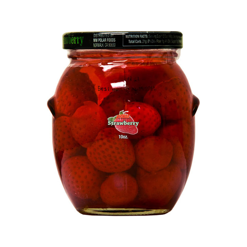 Strawberry in Light Syrup 10 oz (Pack of 12) - MWPolar