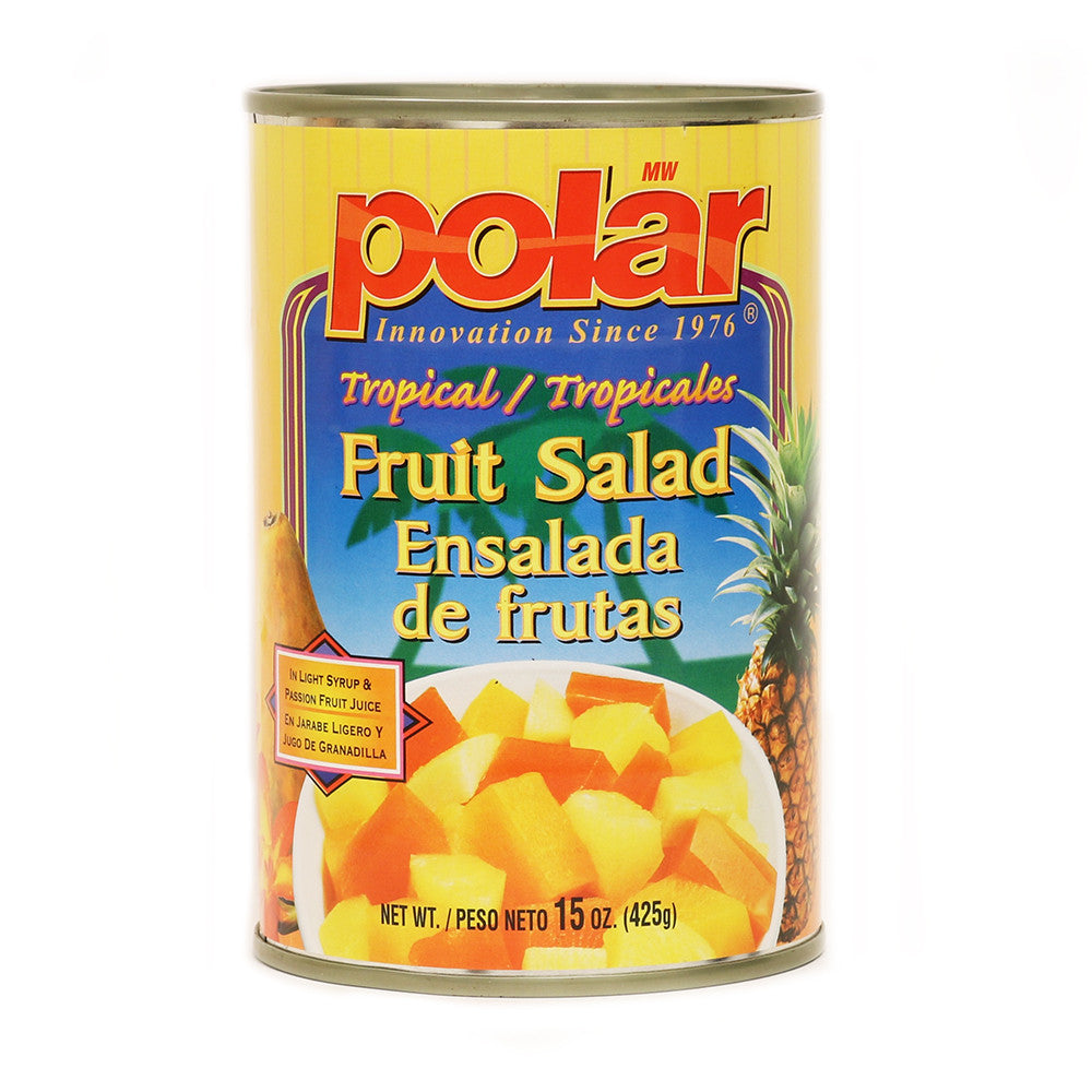 Tropical Fruit Salad in Syrup and Juice 15 oz (Pack of 6 or 24) - MWPolar