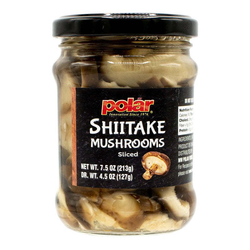 Shiitake Sliced Mushrooms 7.5 oz (Pack of 6 or 12) - MWPolar