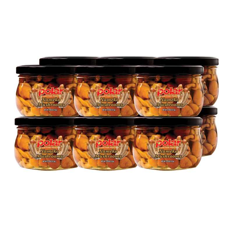 Nameko Mushrooms 7.5 oz (Pack of 6 or 12)