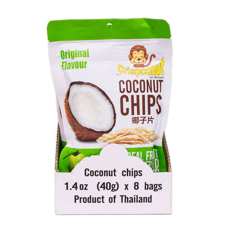 Coconut Chips 1.4 oz (Pack of 8) - MWPolar