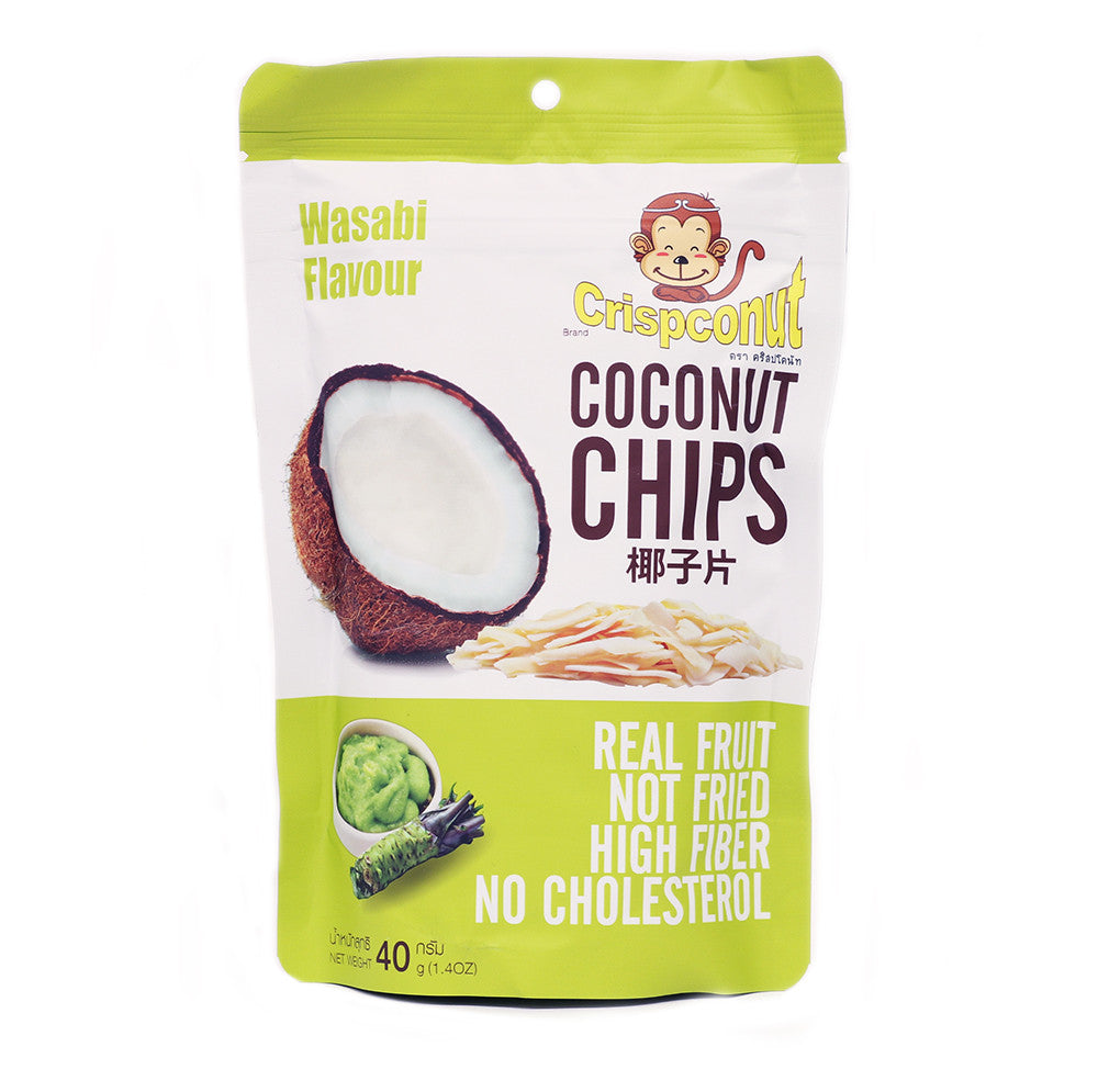 Wasabi Flavored Coconut Chips