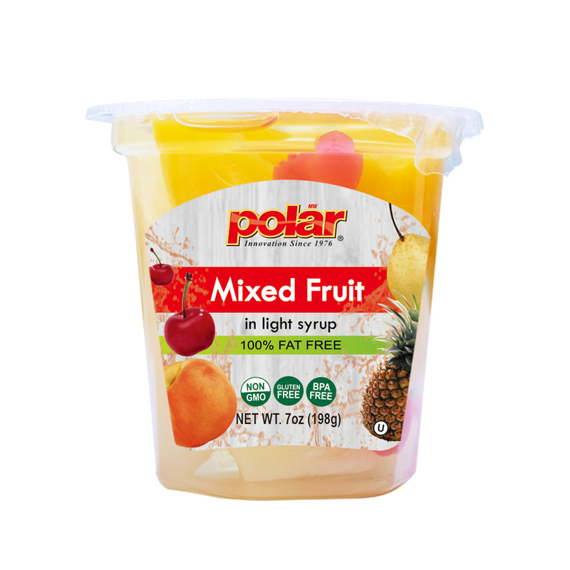 Mixed Fruit Cup in Light Syrup 7 oz (Pack of 12)