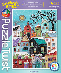 Winter City Jigsaw Puzzle