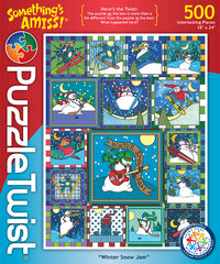 Winter Snow Jam Jigsaw Puzzle