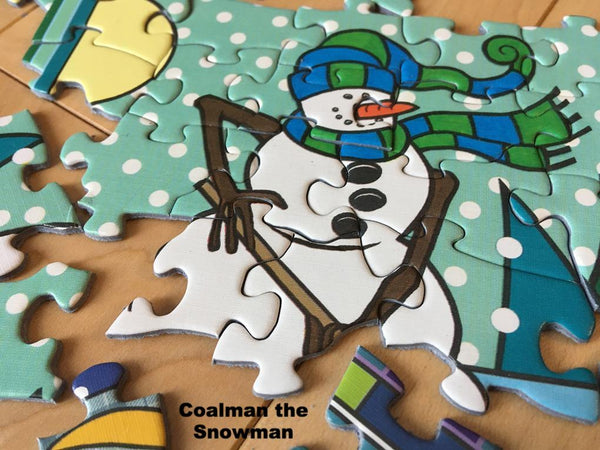 Coalman the Snowman