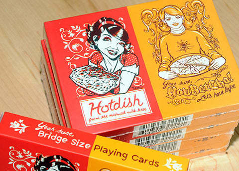 Hotdish/YouBetCha Bridge Size Playing Cards