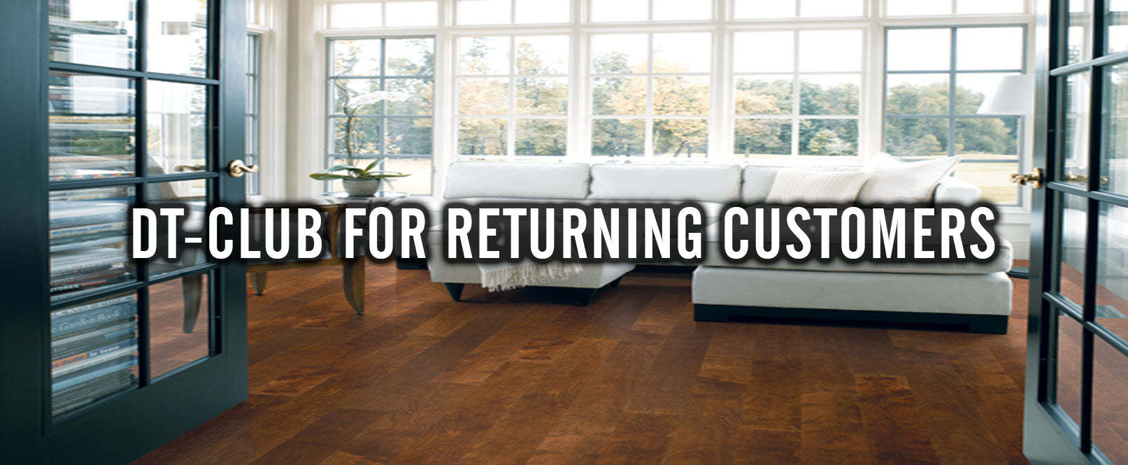 DT-Club for Returning Discount Tile Customers