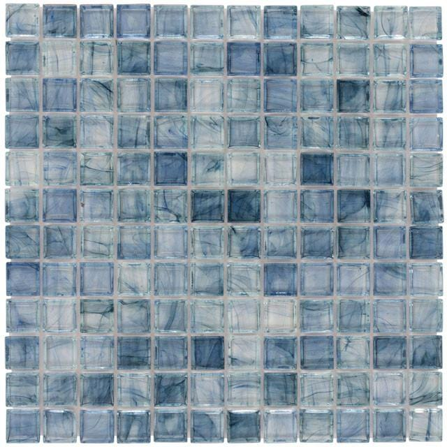01ARIE01-ARB 1x1 Glass Mosaic Tile