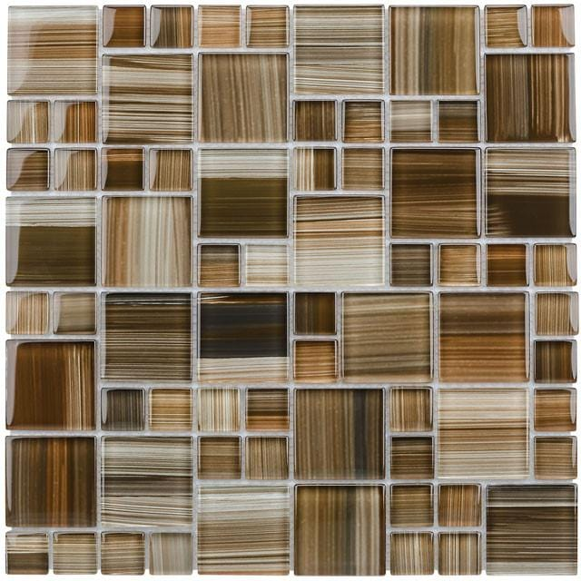 12BRIO12-ETC 1x1 & 2x2 Glass Mosaic Tile