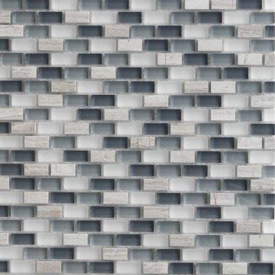 12GLAS12-GM12-006 1x2 Glass Mosaic Tile