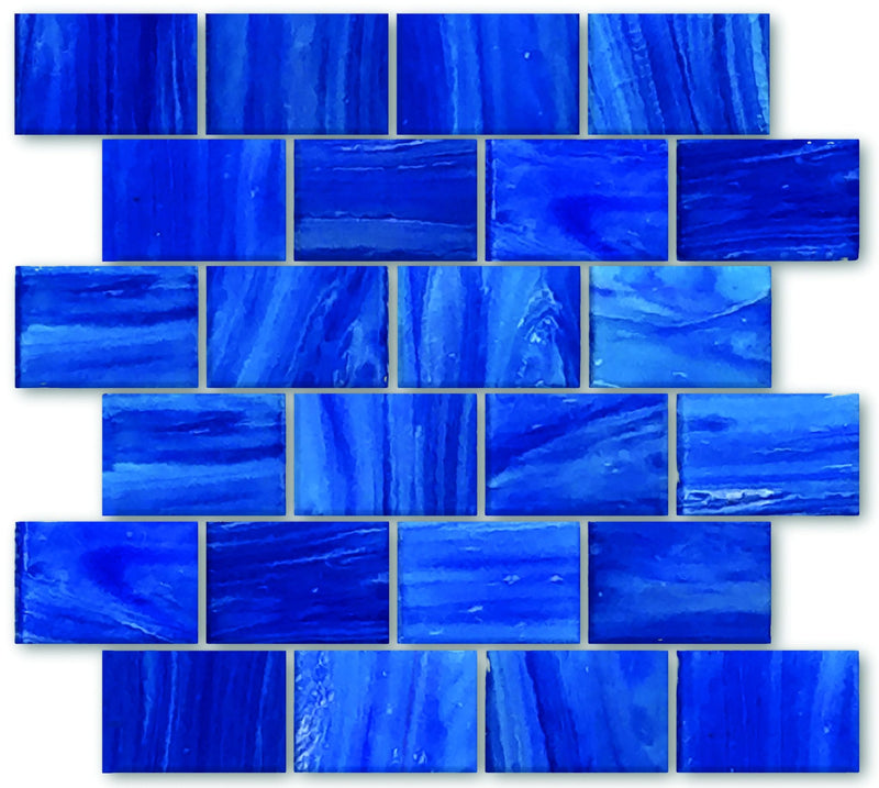 02GAWA03-LAB 2x3 Glass Mosaic Tile - Discount Tile®