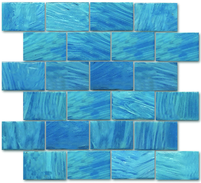 02GAWA03-ION 2x3 Glass Mosaic Tile - Discount Tile®