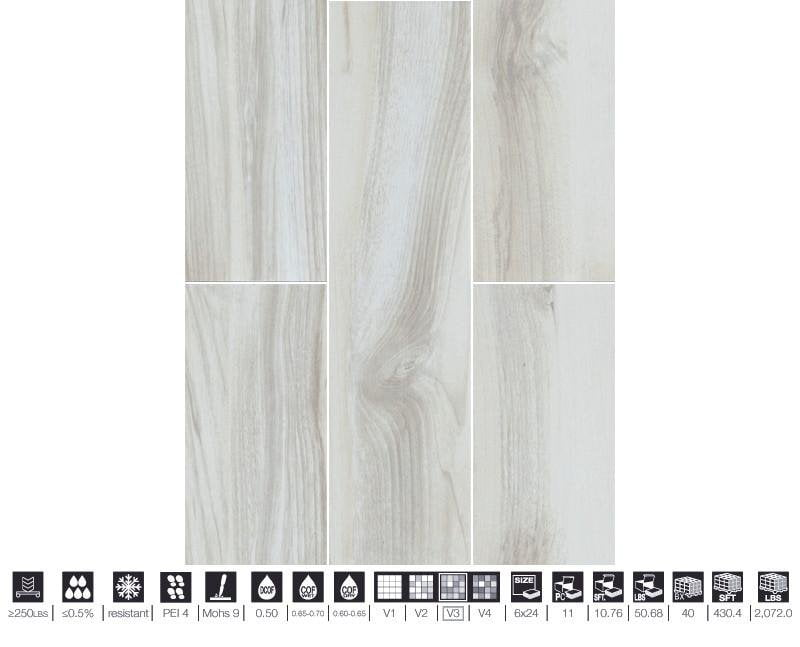 06MARI24-MAP 6x24 Porcelain Tile