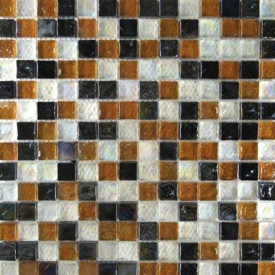 01GLAS01-IC-01-06-16 1x1 Glass Mosaic Tile - Discount Tile®