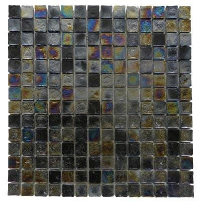 01GLAS01-IC-06 1x1 Glass Mosaic Tile - Discount Tile®