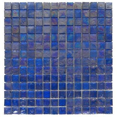 01GLAS01-IC-07 1x1 Glass Mosaic Tile - Discount Tile®
