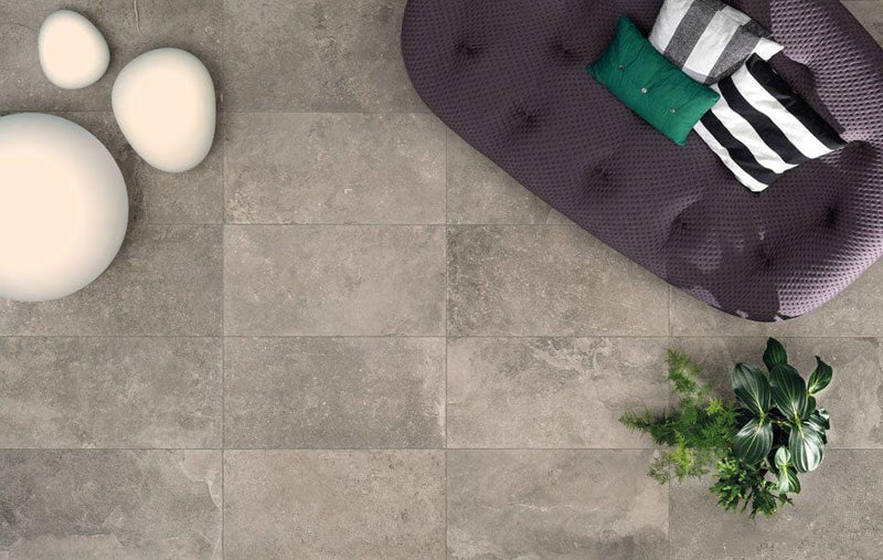 12ROCK24-GRE 12x24 Porcelain Tile