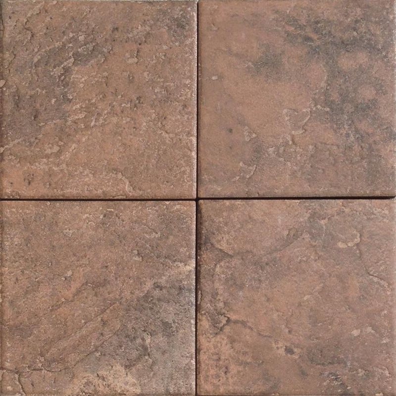 06NEPA06-RED 6x6 Porcelain Tile