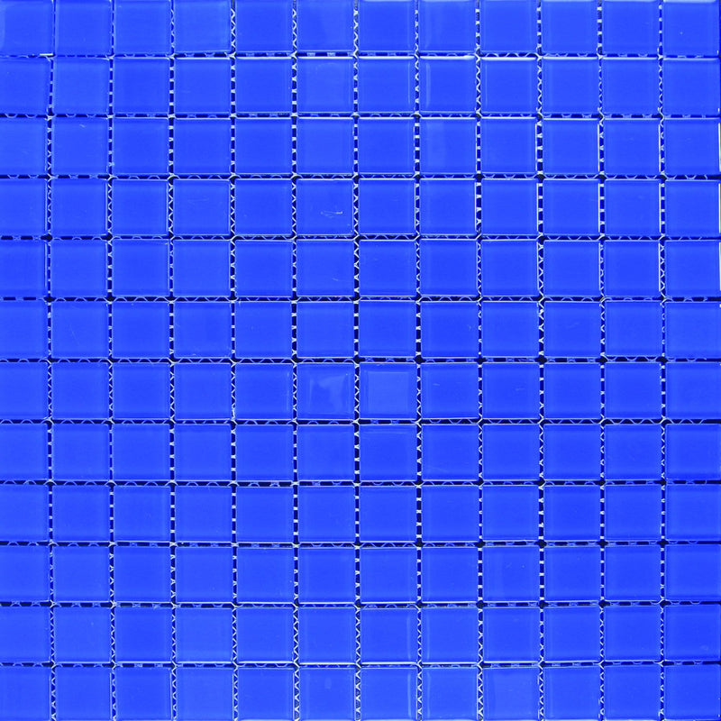01GLAS01-C35 1x1 Glass Mosaic Tile