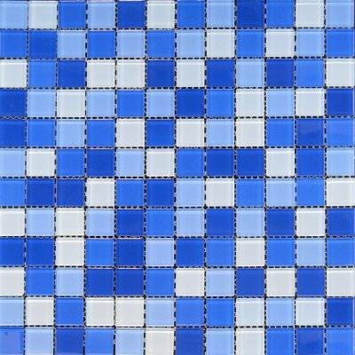 01GLAS01-TMS-18 1x1 Glass Mosaic Tile