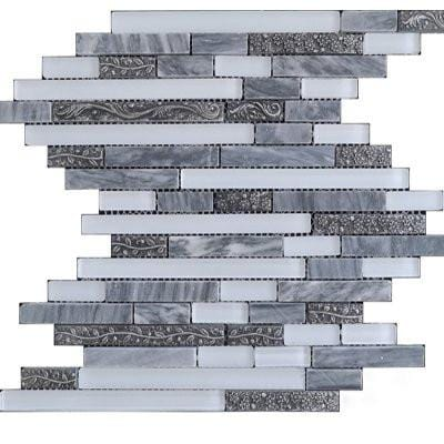 12GLAS12-TC15Z-106 12x12 Glass Mosaic Tile
